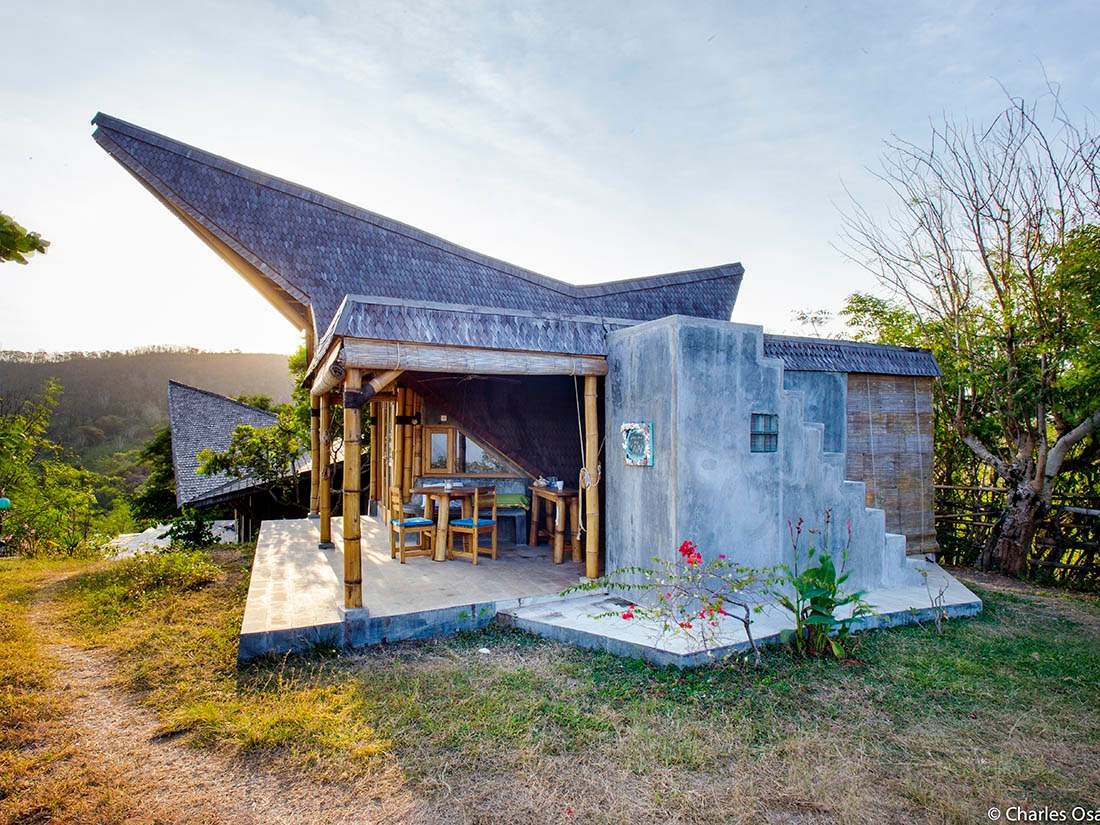 Bamboo Bungalow in Lombok